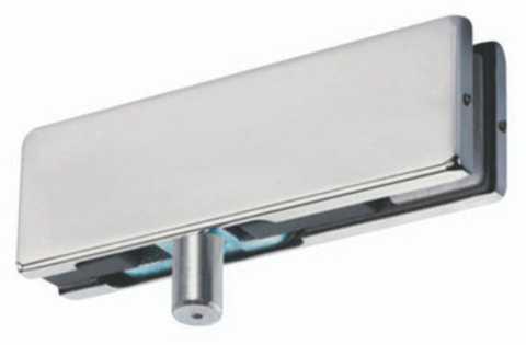 Herrajes de acceso y fachadas para puertas abatibles de for Herrajes para mamparas de cristal