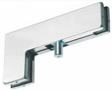 Herrajes de acceso y fachadas para puertas abatibles de for Herrajes puertas cristal
