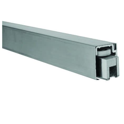 Herrajes de acceso para puertas corredizas de cristal for Sistema para puertas corredizas