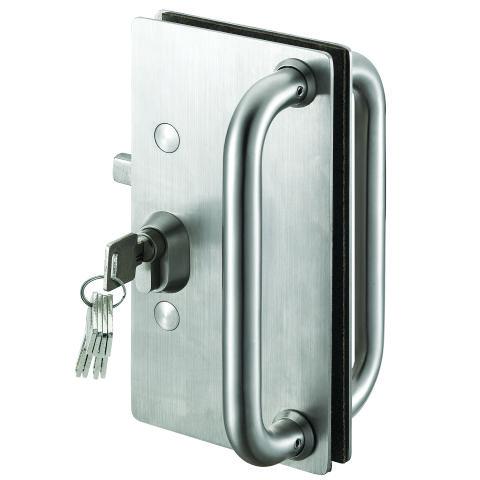 Herrajes de seguros y chapas para puertas de cristal for Herrajes para puertas corredizas
