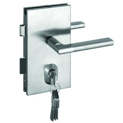 Herrajes de seguros y chapas para puertas de cristal for Herrajes para tejados de madera
