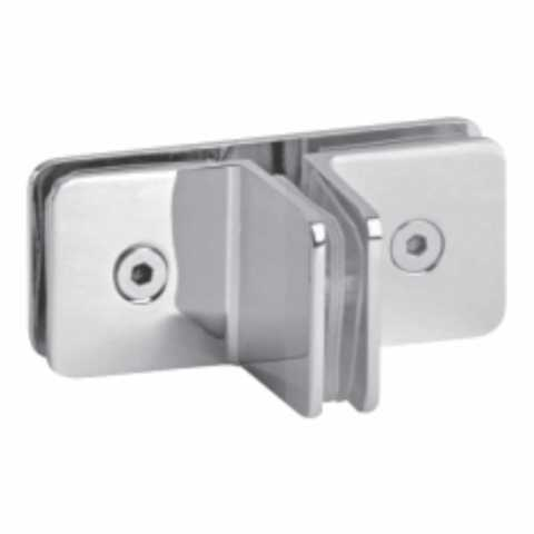 Fittings of frameless shower door hardware fitting brk - Bisagras para cristales ...