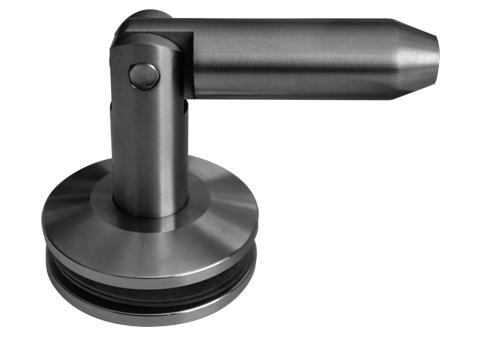 Herrajes para Cristal GALIER  - Conectores para marquesina GLR6041