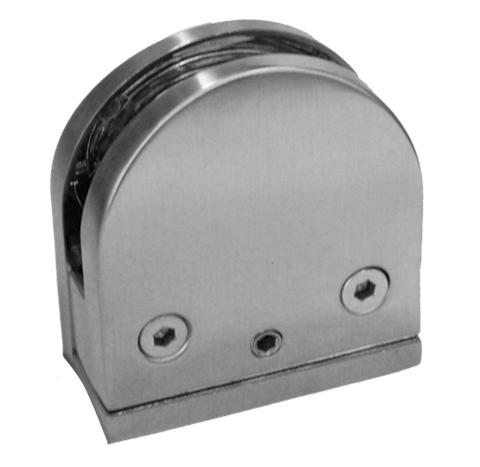 Herrajes para Cristal GALIER  - Clips y Conectores GLR662CR