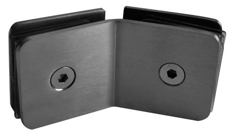Herrajes para Cristal GALIER  - Clips y Conectores GLR686C