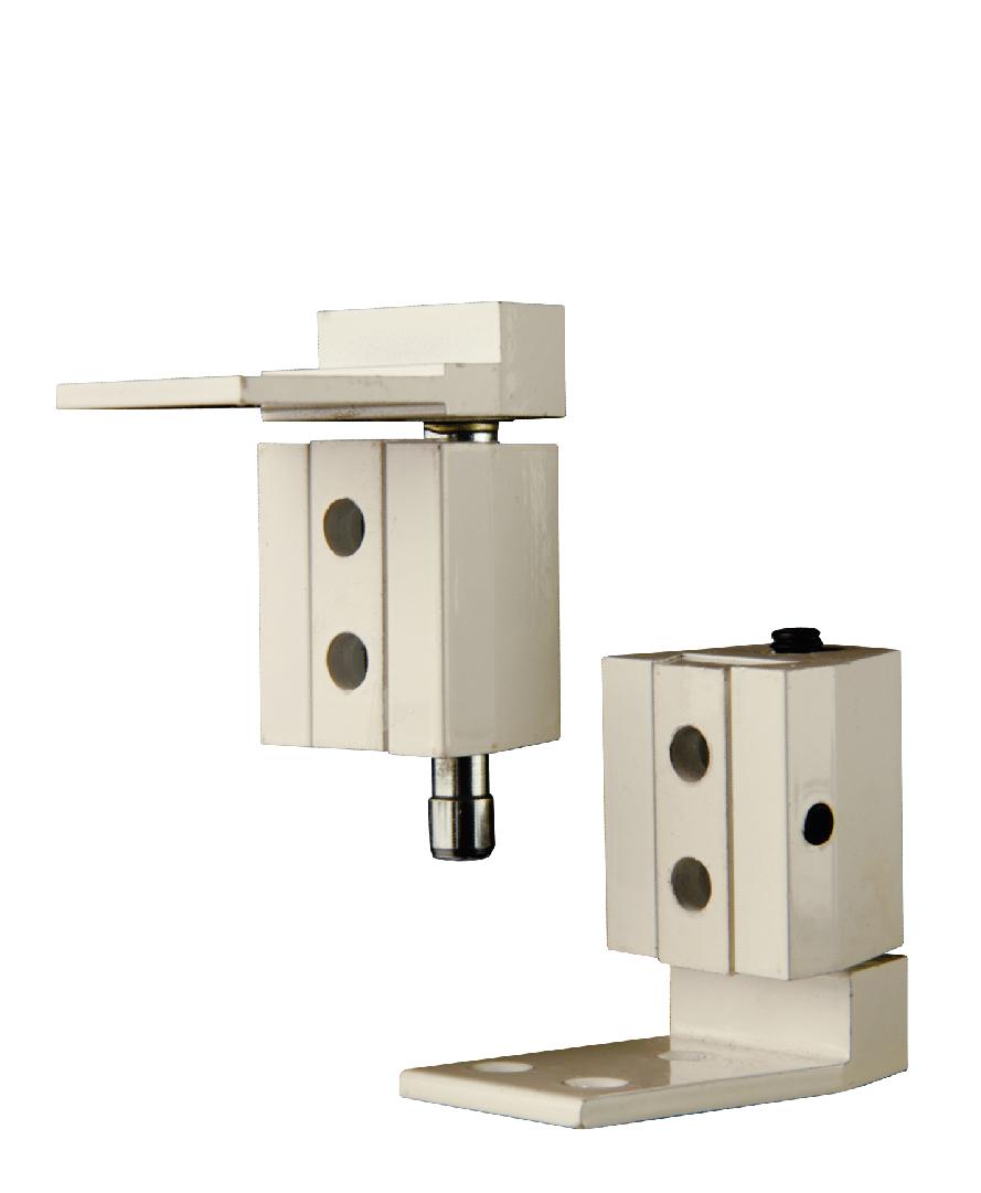 bisagra pivote pial para puertas de aluminio bruken