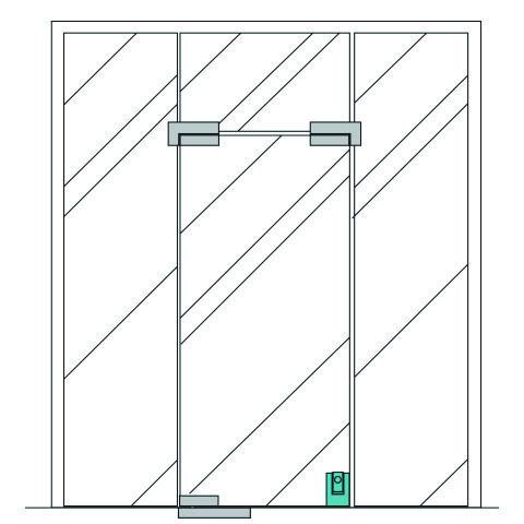 Herrajes de seguros y chapas para puertas de cristal for Herrajes puertas cristal